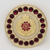 DUKE OF LANCASTER'S REGIMENT BROACH / BROOCH (GRS)